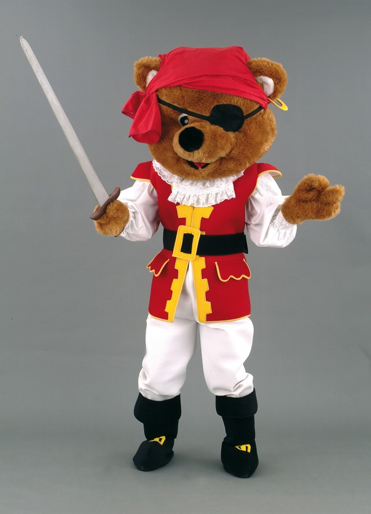 L'OURS PIRATE 127A - 495 €