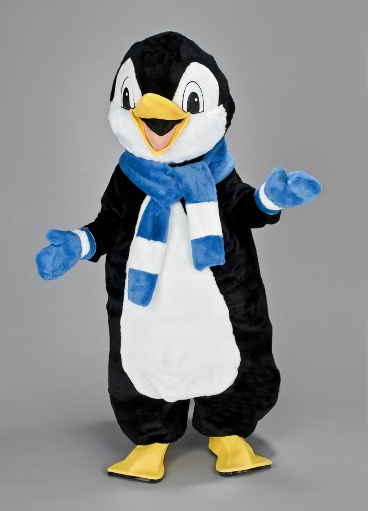 LE PINGOUIN ECHARPE BLUEUE - 495 €