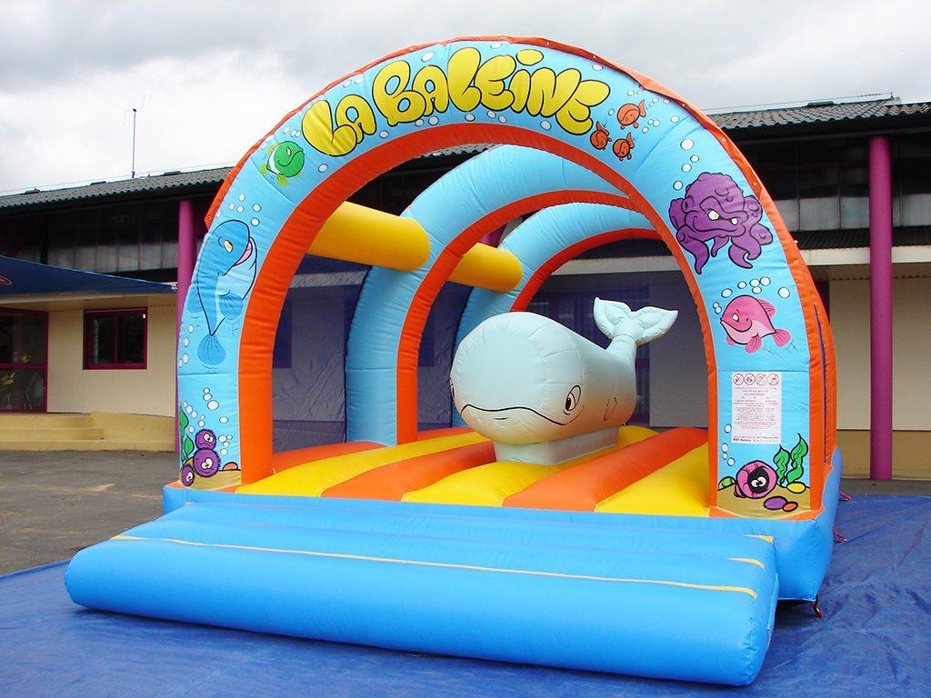 Baleine gonflable pour location ou parc de jeu d 39 int rieur for Parc d interieur