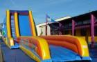 Toboggan aquatique gonflable Aqua slide 600 midi slide