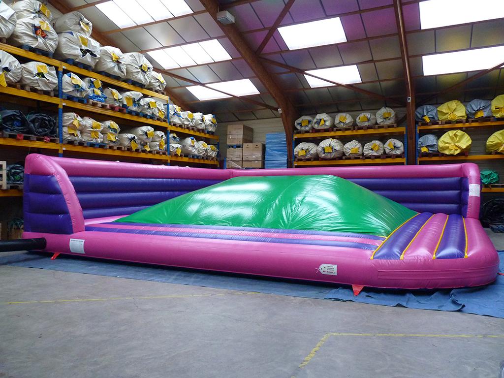achat bulle molle  montagne d u0026 39 air gonflable avec matelas