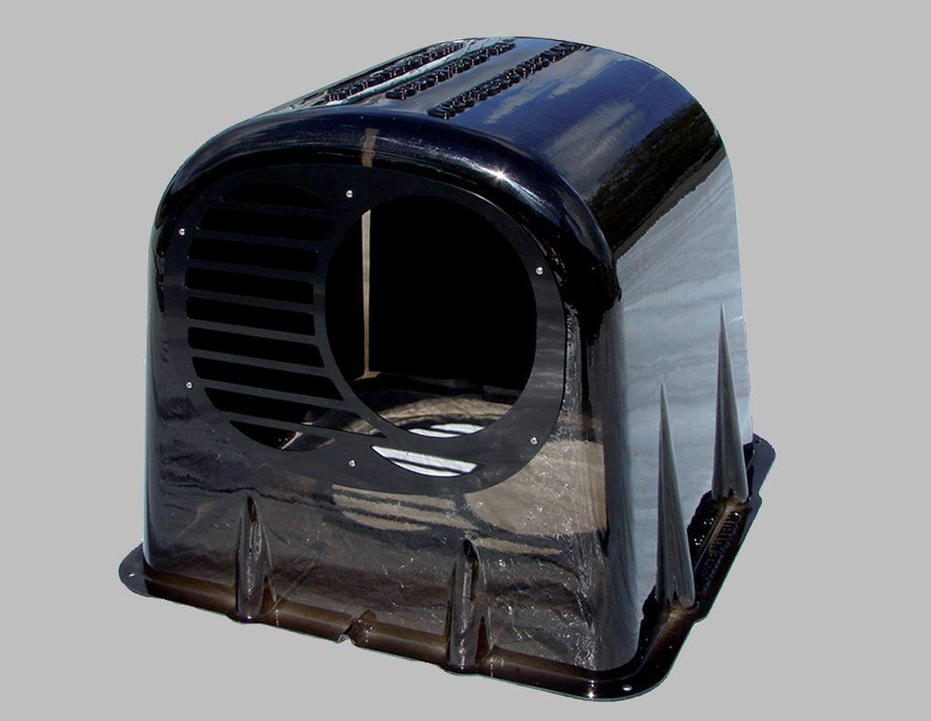 caisson en bois plastique pour baisser le bruit des moteurs de jeux gonflables. Black Bedroom Furniture Sets. Home Design Ideas