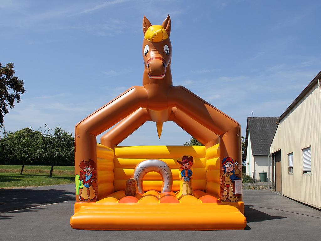 Chateau gonflable couvert avec un toit a vendre pour les parc de jeux gonflables - Jeux gonflables a vendre ...