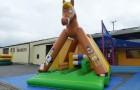 Parc de jeux gonflable Cheval avec obstacles