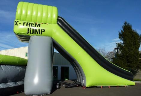 X-JUMP COMPLET : PLATEFORME DE SAUT & AIRBAG