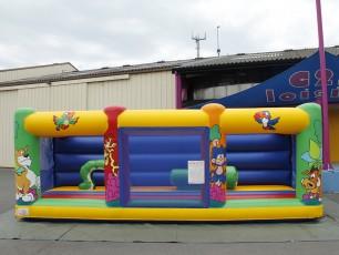 Complexe pour petits enfants Fun land bambin mur arrière
