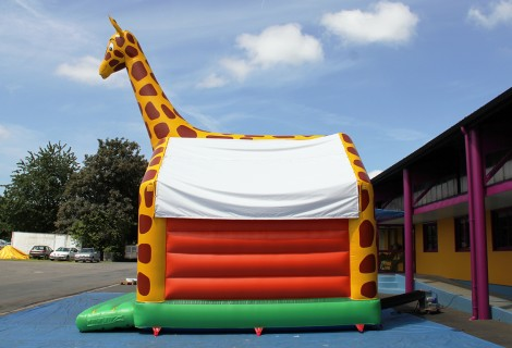 GIRAFE AVEC MURS SANS OBSTACLE 6.5x5m GONFLABLE
