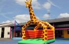 jeux gonflable la Girafe murs gonflé sans obstacles