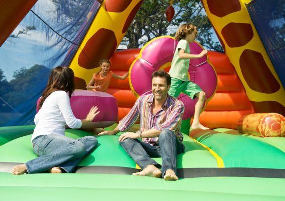 Des jeux gonflés à bloc !
