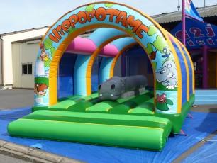 Obstacle sous 3 arche hippopotame