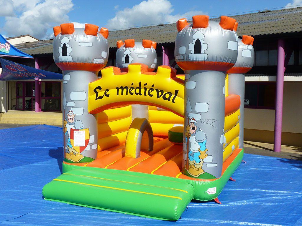 Acheter un chateau gonflable pour la location ou pour animations de f tes for - Acheter chateau gonflable ...