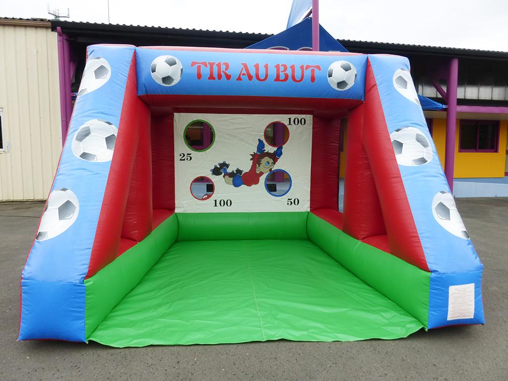 tir au but gonflable pour club de foot ou animations adultes