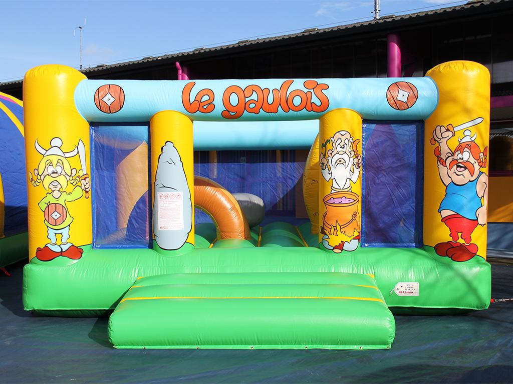 Ballon gonflable, matelas de saut Playground Gaulois