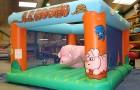 Rodéos gonflable cochon