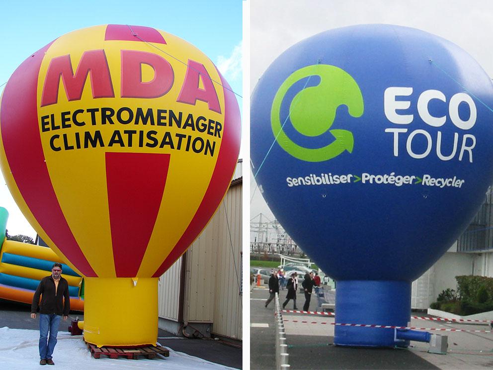 montgolfiere publicitaire